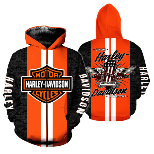 **(OFFICIAL-HARLEY-DAVIDSON-MOTORCYCLE-ZIPPERED-HOODIES & NO.1-SINCE-1903/CUSTOM-DETAILED-3D-GRAPHIC-PRINTED & DOUBLE-SIDED-ALL-OVER-DESIGN/CLASSIC-OFFICIAL-CUSTOM-HARLEY-LOGOS & OFFICIAL-HARLEY-COLORS/WARM-PREMIUM-HARLEY-BIKERS-ZIPPERED-HOODIES)**