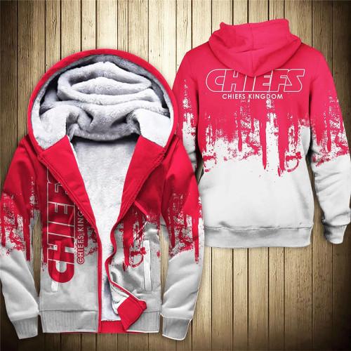 **(OFFICIAL-N.F.L.KANSAS-CITY-CHIEFS-FLEECE-ZIPPERED-HOODIES/OFFICIAL-CHIEFS-TEAM-LOGOS & OFFICIAL-CLASSIC-CHIEFS-TEAM-COLORS/CUSTOM-DETAILED-3D-GRAPHIC-PRINTED-DOUBLE-SIDED-ALL-OVER-DESIGN/WARM-PREMIUM-FLEECE-LINED-CHIEFS-TEAM-ZIPERED-HOODIES)**