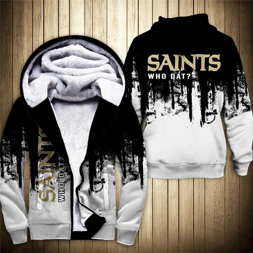 **(OFFICIAL-N.F.L.NEW-ORLEANS-SAINTS-FLEECE-ZIPPERED-HOODIES & WHO-DAT/OFFICIAL-SAINTS-TEAM-LOGOS & OFFICIAL-CLASSIC-SAINTS-TEAM-COLORS/CUSTOM-DETAILED-3D-GRAPHIC-DOUBLE-SIDED-PRINTED/NICE-WARM-PREMIUM-FLEECE-LINED-SAINTS-TEAM/GAME-DAY-HOODIES)**