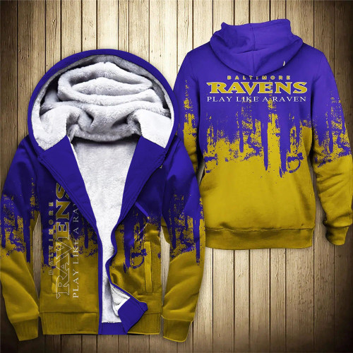 **(OFFICIAL-N.F.L.BALTIMORE-RAVENS-FLEECE-ZIPPERED-HOODIES & PLAY-LIKE-A-RAVEN/OFFICIAL-RAVENS-TEAM-LOGOS & OFFICIAL-CLASSIC-RAVENS-TEAM-COLORS/CUSTOM-DETAILED-3D-GRAPHIC-DOUBLE-SIDED-PRINTED/WARM-PREMIUM-FLEECE-LINED-RAVENS-TEAM/GAME-DAY-HOODIES)**