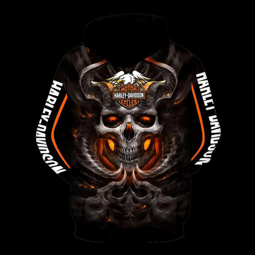 **(OFFICIAL-HARLEY-DAVIDSON-MOTORCYCLE-PULLOVER-SKULL-HOODIES/CUSTOM-3D-GRAPHIC-PRINTED-GLOWING-SKULL-DESIGN/FEATURING-OFFICIAL-CUSTOM-HARLEY-LOGOS & OFFICIAL-CLASSIC-HARLEY-COLORS/3D-DOUBLE-SIDED-GRAPHIC-DESIGN/WARM-PREMIUM-HARLEY-RIDING-HOODIES)**