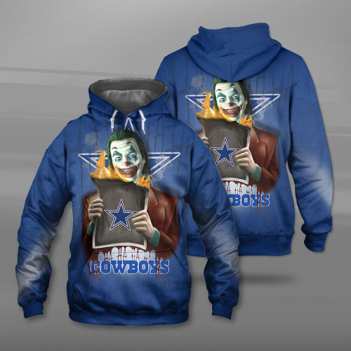 **(OFFICIAL-N.F.L.DALLAS-COWBOYS-TEAM-PULLOVER-HOODIES & THE-JOKER-MOVIE-CHARACTER/CUSTOM-3D-GRAPHIC-PRINTED-DOUBLE-SIDED-DESIGN/OFFICIAL-CLASSIC-COWBOYS-LOGOS/OFFICIAL-COWBOYS-TEAM-COLORS/WARM-PREMIUM-OFFICIAL-COWBOYS-TEAM-PULLOVER-HOODIE)**