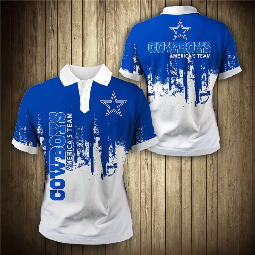 **(OFFICIAL-NEW-N.F.L.DALLAS-COWBOYS-TRENDY-TEAM-POLO-SHIRTS/CUSTOM-3D-COWBOYS-OFFICIAL-LOGOS & OFFICIAL-CLASSIC-COWBOYS-TEAM-COLORS/DETAILED-CUSTOM-3D-GRAPHIC-PRINTED-DOUBLE-SIDED-DESIGN/PREMIUM-N.F.L.COWBOYS-GAME-DAY-TEAM-FASHION-POLO-SHIRTS)**