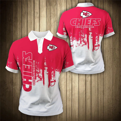 **(OFFICIAL-NEW-N.F.L.KANSAS-CITY-CHIEFS-TRENDY-TEAM-POLO-SHIRTS/CUSTOM-3D-CHIEFS-OFFICIAL-LOGOS & OFFICIAL-CLASSIC-CHIEFS-TEAM-COLORS/DETAILED-CUSTOM-3D-GRAPHIC-PRINTED-DOUBLE-SIDED-DESIGN/PREMIUM-N.F.L.CHIEFS-GAME-DAY-TEAM-FASHION-POLO-SHIRTS)**