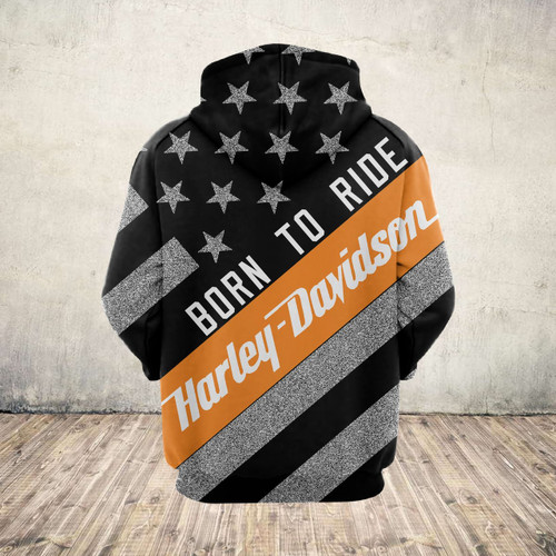 **(OFFICIAL-HARLEY-DAVIDSON-MOTORCYCLE-PULLOVER-HOODIES/CUSTOM-DETAILED-3D-GRAPHIC-PRINTED-PATRIOTIC-FLAG & BORN-TO-RIDE-DESIGN/OFFICIAL-CUSTOM-3D-HARLEY-LOGOS & OFFICIAL-CLASSIC-HARLEY-COLORS/WARM-PREMIUM-HARLEY-BIKER-RIDING-PULLOVER-HOODIES)**