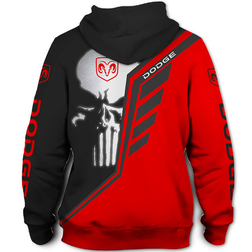 **(OFFICIAL-DODGE-RAM-PULLOVER-HOODIES & CLASSIC-PUNISHER-SKULL/OFFICIAL-DODGE-TWO-TONE-COLORS & OFFICIAL-CLASSIC-DODGE-RAM-LOGOS/NICE-CUSTOM-3D-GRAPHIC-PRINTED-DOUBLE-SIDED-ALL-OVER-DESIGN/WARM-PREMIUM-CUSTOM-DODGE-PULLOVER-POCKET-HOODIES)**