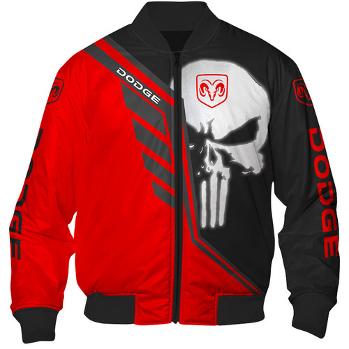 **(OFFICIAL-DODGE-RAM-FLIGHT-JACKETS & CLASSIC-PUNISHER-SKULL/OFFICIAL-DODGE-TWO-TONE-COLORS & OFFICIAL-CLASSIC-DODGE-RAM-LOGOS/NICE-CUSTOM-3D-GRAPHIC-PRINTED-DOUBLE-SIDED-ALL-OVER-DESIGN/WARM-PREMIUM-CUSTOM-DODGE/SIDE-POCKETS-FLIGHT-JACKETS)**