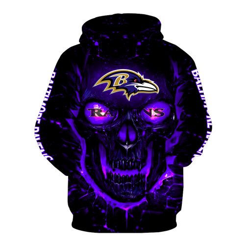 **(OFFICIAL-N.F.L.BALTIMORE-RAVENS-PULLOVER-TEAM-HOODIES/NEON-PURPLE-GLOWING-SKULL/OFFICIAL-RAVENS-TEAM-LOGOS & OFFICIAL-RAVENS-CLASSIC-TEAM-COLORS/NICE-3D-DETAILED-GRAPHIC-PRINTED-DOUBLE-SIDED-DESIGN/WARM-PREMIUM-RAVENS-TEAM-PULLOVER-HOODIES)**