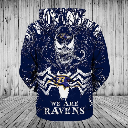 **(OFFICIAL-N.F.L.BALTIMORE-RAVENS-PULLOVER-TEAM-HOODIES/WE-ARE-RAVENS & NEON-PURPLE-VENOM-SKULL/OFFICIAL-RAVENS-TEAM-LOGOS & OFFICIAL-RAVENS-CLASSIC-TEAM-COLORS/CUSTOM-3D-GRAPHIC-PRINTED-DOUBLE-SIDED/WARM-PREMIUM-RAVENS-TEAM-PULLOVER-HOODIES)**