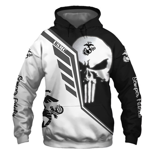 **(OFFICIAL-U.S.MARINE-VETERANS-PULLOVER-HOODIES/THE-PUNISHER-SKULL & CLASSIC-MARINES-MIDNIGHT-BLACK & WHITE-SKULL-DESIGN & OFFICIAL-MARINES-LOGOS/NICE-3D-CUSTOM-DETAILED-GRAPHIC-PRINTED-DESIGN/WARM-PREMIUM-U.S.MARINES-MILITARY-PULLOVER-HOODIES)**
