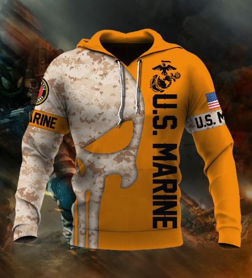 **(OFFICIAL-U.S.MARINE-VETERANS-CAMO.PULLOVER-HOODIES/THE-PUNISHER-SKULL-IN-DIGITAL-CAMO. & CLASSIC-OFFICIAL-MARINES-LOGOS/NICE-3D-CUSTOM-DETAILED-GRAPHIC-PRINTED/DOUBLE-SIDED-GRAPHIC-PRINTED-ARM-SLEEVE-DESIGN/WARM-PREMIUM-U.S.MARINES-PULLOVER-HOODIES)**