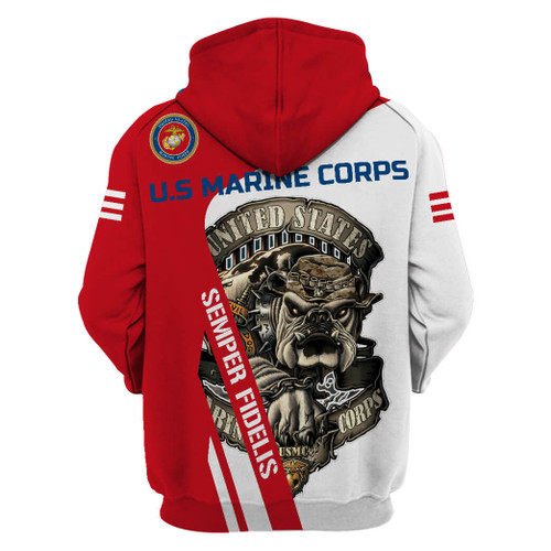 **(OFFICIAL-U.S.MARINE-VETERANS-PULLOVER-HOODIES/SEMPER-FIDELIS & OFFICIAL-MARINES-MASCOT-DRILL-DOG/OFFICIAL-MARINES-LOGOS/NICE-3D-CUSTOM-DETAILED-GRAPHIC-PRINTED/DOUBLE-SIDED-ALL-OVER-PRINTED-DESIGNED/WARM-PREMIUM-OFFICIAL-U.S.MARINES-PULLOVER-HOODIES)**