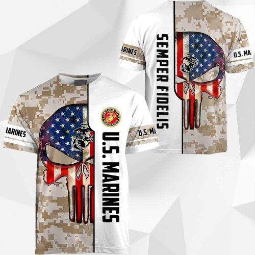 **(OFFICIAL-U.S.MARINES-VETERANS-DIGITAL-CAMO.SHORT-SLEEVE-TEES/CLASSIC-PATRIOTIC-FLAG-PUNISHER-SKULL & CLASSIC-MARINES-DIGITAL-CAMO.DESIGN & OFFICIAL-MARINES-LOGOS/CUSTOM-3D-DETAILED-GRAPHIC-PRINTED/TRENDY-PREMIUM-U.S.MARINES-MILITARY-CAMO.TEES)**