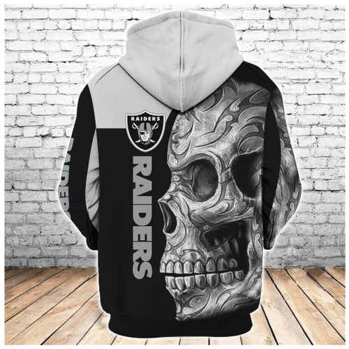 **(OFFICIAL-N.F.L.OAKLAND-RAIDERS-PULLOVER-HOODIES/NEON-GREY-RAIDERS-TRIBAL-AZTEC-SKULL/OFFICIAL-CUSTOM-3D-RAIDERS-LOGOS & OFFICIAL-RAIDERS-TEAM-COLORS/CUSTOM-3D-GRAPHIC-PRINTED-DOUBLE-SIDED-DESIGN/WARM-PREMIUM-N.F.L.RAIDERS-TEAM-PULLOVER-HOODIES)**
