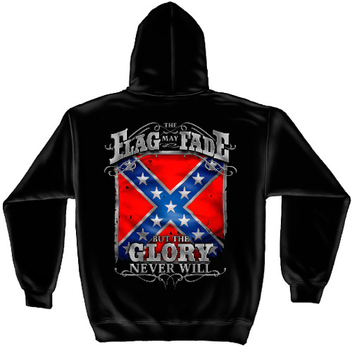 "(NEW-LICENSED,""THIS-FLAG-MAY-FADE,BUT-THE-GLORY-NEVER-WILL"",VERY-NICE-GRAPHIC-PRINTED-PREMIUM-DOUBLE-SIDED-FRONT-POCKET-HOODIES:)"