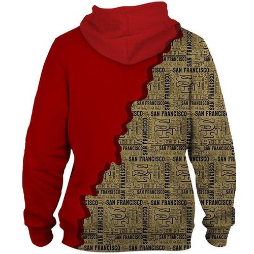 **(OFFICIAL-N.F.L.SAN-FRANCISCO-49ERS-PULLOVER-HOODIES/CUSTOM-3D-ALL-OVER-DOUBLE-SIDED-GRAPHIC-PRINTED-IN-OFFICIAL-CLASSIC-49ERS-TEAM-COLORS & OFFICIAL-49ERS-TEAM-LOGOS/WARM-PREMIUM-OFFICIAL-N.F.L.49ERS-TEAM-PULLOVER-POCKET-HOODIES)**