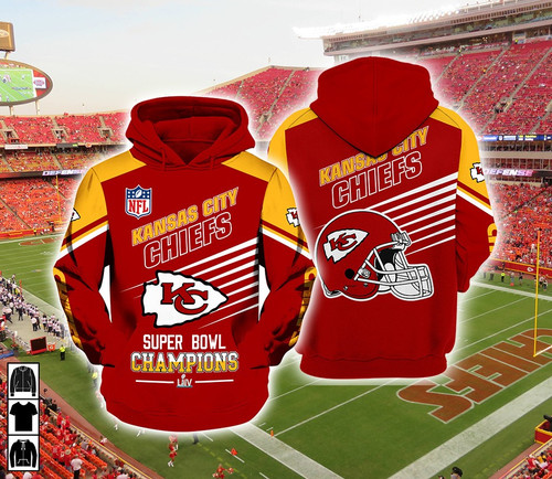 **(OFFICIAL-N.F.L.KANSAS-CITY-CHIEFS-FASHION-PULLOVER-TEAM-HOODIES & SUPER-BOWL-LIV-CHAMPIONS/CUSTOM-3D-GRAPHIC-PRINTED-DESIGN/OFFICIAL-CHIEFS-TEAM-LOGOS & OFFICIAL-CHIEFS-TEAM-COLORS/NICE-WARM-PREMIUM-OFFICIAL-N.F.L.CHIEFS-TEAM-PULLOVER-HOODIES)**