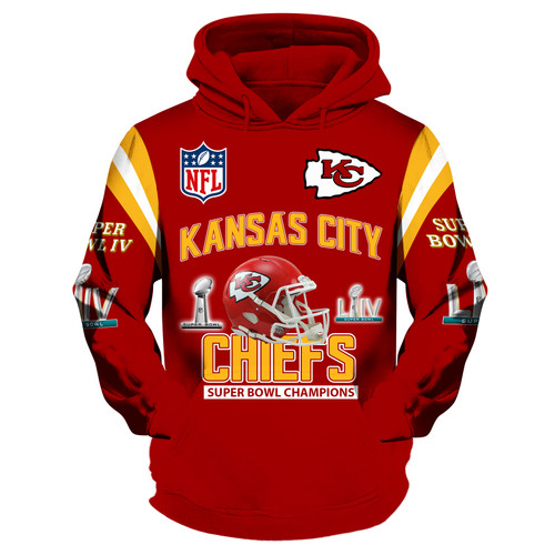 **(OFFICIAL-N.F.L.KANSAS-CITY-CHIEFS-ALL-STAR-TEAM-PULLOVER-HOODIES & SUPER-BOWL-LIV-CHAMPIONS/CUSTOM-3D-GRAPHIC-PRINTED-DESIGN/OFFICIAL-CHIEFS-TEAM-LOGOS & OFFICIAL-CHIEFS-TEAM-COLORS/WARM-PREMIUM-OFFICIAL-N.F.L.CHIEFS-TEAM-FASHION-HOODIES)**