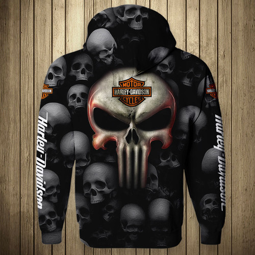 **(OFFICIAL-HARLEY-DAVIDSON-MOTORCYCLE-FLIGHT-JACKETS & BIG-HARLEY-PUNISHER-SKULL/FEATURING-OFFICIAL-CUSTOM-HARLEY-3D-LOGOS & OFFICIAL-CLASSIC-HARLEY-COLORS/CUSTOM-3D-GRAPHIC-PRINTED-DESIGN/WARM-PREMIUM-FASHION-HARLEY-RIDING-BIKER-FLIGHT-JACKETS)**