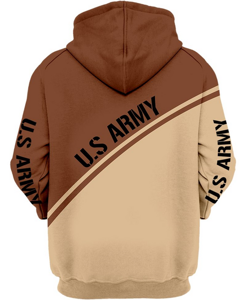 **(OFFICIAL-U.S.ARMY-HONOR-THE-FALLEN & OFFICIAL-U.S.ARMY-LOGOS-DESIGN/NICE-CUSTOM-DETAILED-3D-GRAPHIC-PRINTED-DOUBLE-SIDED-DESIGN/WARM-PREMIUM-U.S.ARMY-PULLOVER-HOODIES)**