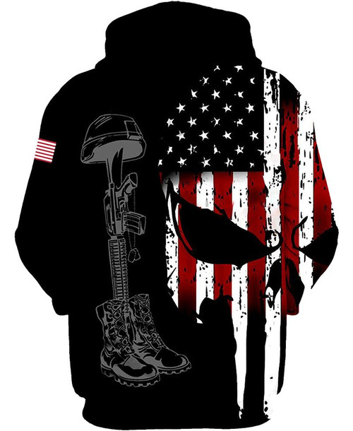 **(OFFICIAL-U.S.ARMY-VETERANS-ZIPPERED-HOODIES/CLASSIC-PATRIOTIC-FLAG-PUNISHER-SKULL-DESIGN & CLASSIC-ARMY-LOGOS/U.S.COMBAT-VETERANS-FALLEN-SOLDIERS-COMBAT-BOOTS,HELMET & DOG-TAGS-IN-REMEMBRANCE)**
