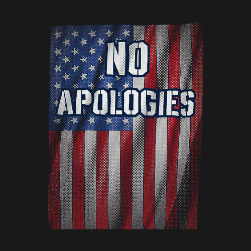 **(ALL-NEW NO-APOLOGIES & PATRIOT-DRAPED-FLAG,NICE-DETAILED-CUSTOM-GRAPHIC-PRINTED/WARM-PREMIUM-DOUBLE-SIDED-PULLOVER-HOODIES)**