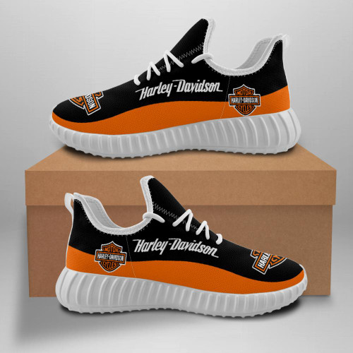 **(OFFICIAL-HARLEY-DAVIDSON-BIKER-WHITE-TRENDY-SPORT-RIDING-SHOES/CUSTOM-DETAILED-3D-GRAPHIC-PRINTED-DOUBLE-SIDED-DESIGN/CLASSIC-OFFICIAL-CUSTOM-HARLEY-LOGOS & CLASSIC-OFFICIAL-HARLEY-BLACK & ORANGE-COLORS/PREMIUM-FASHION-HARLEY-BIKERS-SPORT-SHOES)**