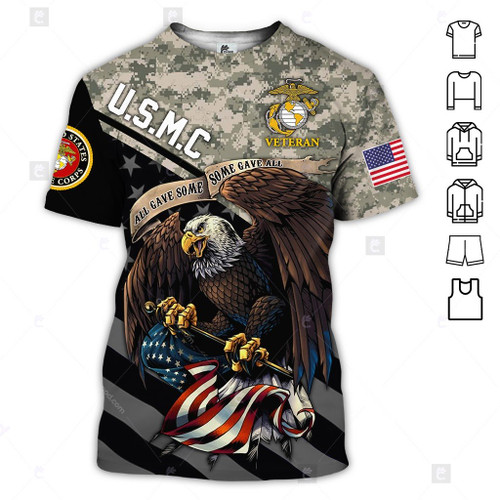 **(OFFICIAL-U.S.MARINE-VETERANS-DIGITAL-CAMO.TEE-SHIRT & BIG-WINGED-BALD-EAGLE-AND-PATRIOTIC-FLAG-DOUBLE-SIDED-DESIGN/OFFICIAL-CLASSIC-MARINES-LOGOS/CUSTOM-3D-DETAILED-GRAPHIC-PRINTED-DESIGN/TRENDY-PREMIUM-U.S.MARINES-VETERANS-MILITARY-TEES)**
