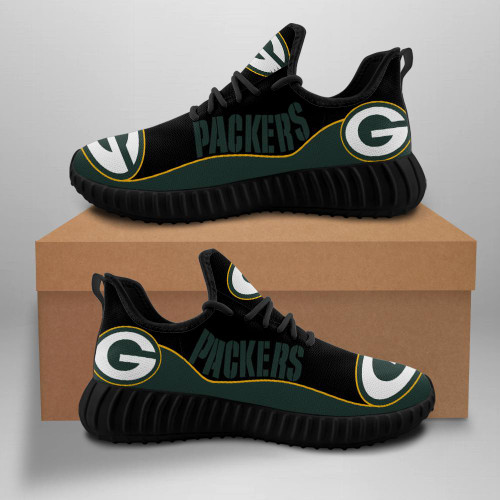 **(OFFICIAL-GREEN-BAY-PACKERS-TEAM-BLACK-FASHION-SPORT-SHOES/CUSTOM-DETAILED-3D-GRAPHIC-PRINTED-DOUBLE-SIDED-DESIGN/OFFICIAL-CUSTOM-PACKERS-LOGOS & CLASSIC-OFFICIAL-PACKERS-BLACK & GREEN-TEAM-COLORS/TRENDY-PREMIUM-N.F.L.PACKERS-TEAM-SPORT-SHOES)**