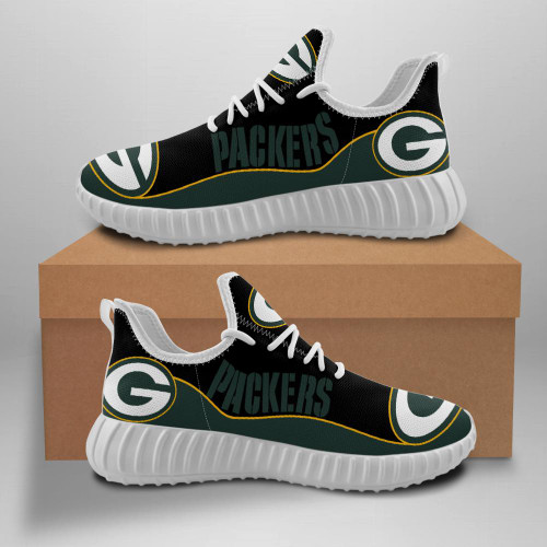 **(OFFICIAL-GREEN-BAY-PACKERS-TEAM-WHITE-FASHION-SPORT-SHOES/CUSTOM-DETAILED-3D-GRAPHIC-PRINTED-DOUBLE-SIDED-DESIGN/OFFICIAL-CUSTOM-PACKERS-LOGOS & CLASSIC-OFFICIAL-PACKERS-BLACK & GREEN-TEAM-COLORS/TRENDY-PREMIUM-N.F.L.PACKERS-TEAM-SPORT-SHOES)**
