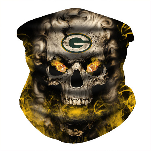 OFFICIAL-N.F.L.GREEN-BAY-PACKERS-FACE-MASK & GAITER-NECK-SCARFS/MULTI-USE-NFL.SPORT-FACE-MASK!