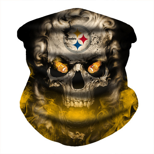 OFFICIAL-N.F.L.PITTSBURGH-STEELERS-FACE-MASK & GAITER-NECK-SCARFS/MULTI-USE-NFL.SPORT-FACE-MASK!