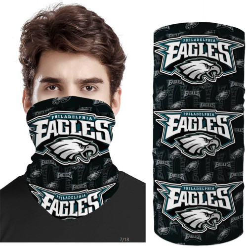-OFFICIAL-N.F.L.PHILADELPHIA-EAGLES-TEAM-FACE-MASK & GAITER-NECK-SCARFS/MULTI-USE-NFL.TEAM-SPORT-FACE-MASK!