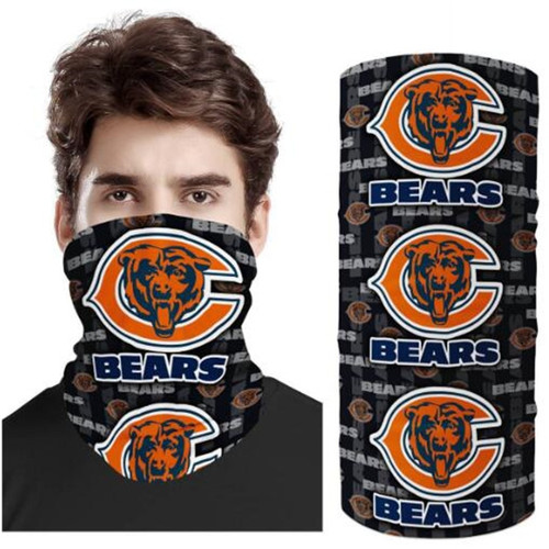OFFICIAL-N.F.L.CHICAGO-BEARS-SAINTS-TEAM-FACE-MASK & GAITER-NECK-SCARFS/MULTI-USE-SPORT-MASK
