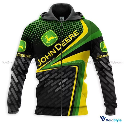 OFFICIAL-JOHN-DEERE-ZIPPERED-HOODIE/NEW-CUSTOM-3D-GRAPHIC-PRINTED-DESIGN-APPAREL