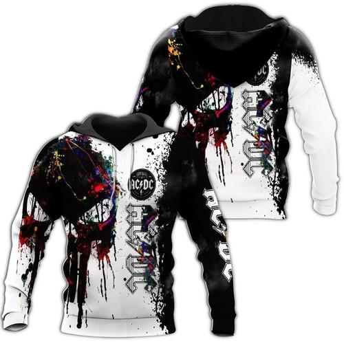 **(OFFICIAL AC/DC-CLASSIC-ROCK-BAND-AC/DC WITH-BIG-PUNISHER-SKULL-CUSTOM-3D-GRAPHIC-PRINTED-LOGO-DESIGN/TRENDY-WARM-PREMIUM-CLASSIC-ROCK-PULLOVER-HOODIES)**
