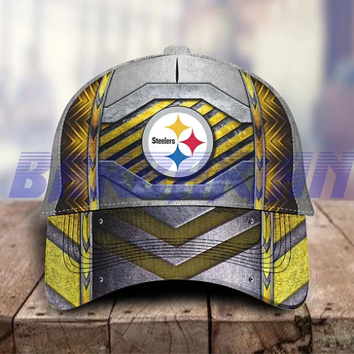 **(OFFICIAL-NFL.PITTSBURGH-STEELERS-TEAM-GAME-DAY-HATS/TRENDY-PREMIUM-CUSTOMIZED-GRAPHIC-3D-PRINTED-STEELERS-TEAM-DESIGN)**