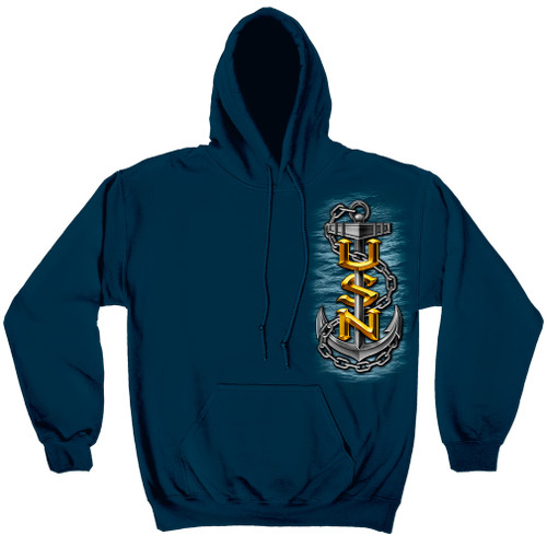 **(OFFICIALLY-LICENSED-U.S.NAVY & THE-SEA-IS-OURS,WITH-NAVY-SYMBOL & ANCHORS,NICE-GRAPHIC-PRINTED-PREMIUM-DOUBLE-SIDED,WARM-PULLOVER/FLEECE-NAVY-HOODIES:)**