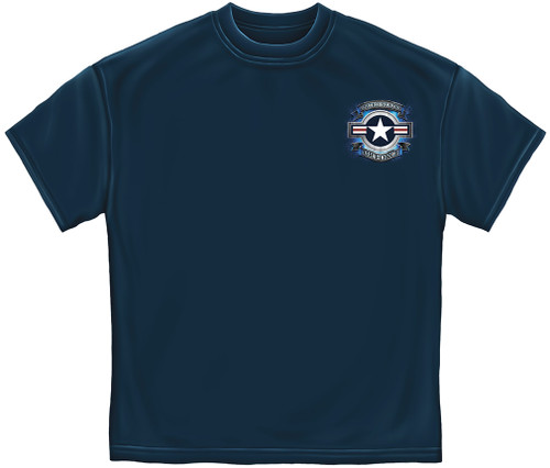 **(NEW-OFFICIALLY-LICENSED-AIR-FORCE/STAR-SHIELD & DUTY,HONOR & COUNTRY,NICE-GRAPHIC-PRINTED-PREMIUM-TEES:)**