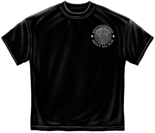 "**(OFFICIALLY-LICENSED-NEW-U.S.ARMY-TEES,""A-FEW-BECOME-BROTHERS"",NICE-GRAPHIC-PRINTED-PREMIUM,DOUBLE-SIDED-ARMY-TEES:)**"
