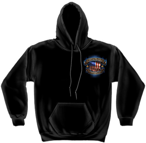 "**(NEW-OFFICIALLY-LICENSED,""I STAND FOR THE FLAG & KNEEL FOR THE FALLEN"",NICE-DETAILED-CUSTOM-GRAPHIC-PRINTED-PREMIUM-DOUBLE-SIDED-PATRIOT-PULLOVER-HOODIES:)**"