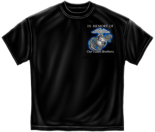 """**(OFFICIALLY-LICENSED-MARINES-CORPS,""""ALL-GIVE-SOME & SOME GAVE ALL,IN-MEMORY-OF-OUR-FALLEN-BROTHERS,NICE-CUSTOM-DETAILED-GRAPHIC-PRINTED/PREMIUM-DOUBLE-SIDED-LICENSED-TEES:)**"""