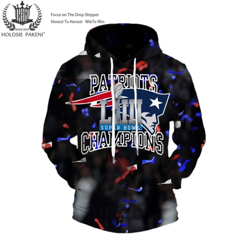 **(OFFICIAL-N.F.L.NEW-ENGLAND-PATRIOTS-SUPER-BOWL-LIII-CHAMPIONS-CUSTOM-PREMIUM-PULLOVER-HOODIES/SIX-TIMES-SUPER-BOWL-CHAMPION-WINNERS/NEW-CUSTOM-3D-GRAPHIC-DOUBLE-SIDED-PRINTING/WITH-OFFICIAL-PATRIOTS-LOGOS & OFFICIAL-PATRIOTS-TEAM-COLORS-HOODIES)**