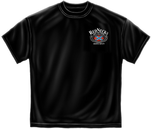 """(NEW-LICENSED,""""REDNECK-RULES & OLD-TIME-RULES"""",VERY-NICE-GRAPHIC-PRINTED-PREMIUM-DOUBLE-SIDED-HUMOR-TEES:)"""