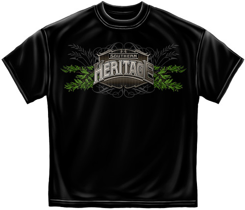 **(TRENDY-NEW-SOUTHERN-HERITAGE & LAND-OF-THE-FREE,NICE-DETAILED-CUSTOM-GRAPHIC-PRINTED/PREMIUM-DOUBLE-SIDED-TEES:)**