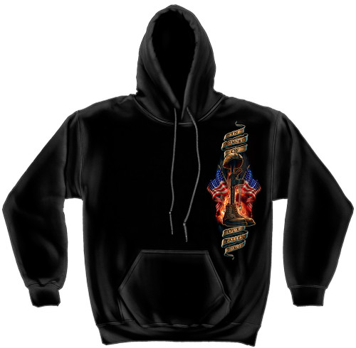 "**(OFFICIALLY-LICENSED-MILITARY-VETERANS,""HOME-OF-THE-FREE,BECAUSE-OF-THE-BRAVE/SOLDIERS-HELMET,DOG-TAGS & BOOTS"",NICE-GRAPHIC-CUSTOM-GRAPHIC-PRINTED/PREMIUM-DOUBLE-SIDED-WARM-FLEECE-POCKET-HOODIES:)**"