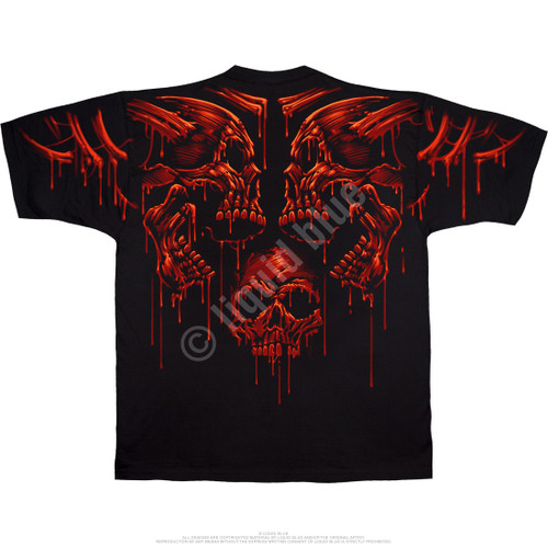 **(OFFICIAL-LIQUID-BLUE-BRAND-FANTASY-TEES,CLASSIC-ACID-RAIN & GRUESOME-BLOOD-DRIPPING-SKULLS,NICE-CUSTOM-DETAILED-GRAPHIC-PRINTED/PREMIUM-DOUBLE-SIDED-GRAPHIC-TEES)**