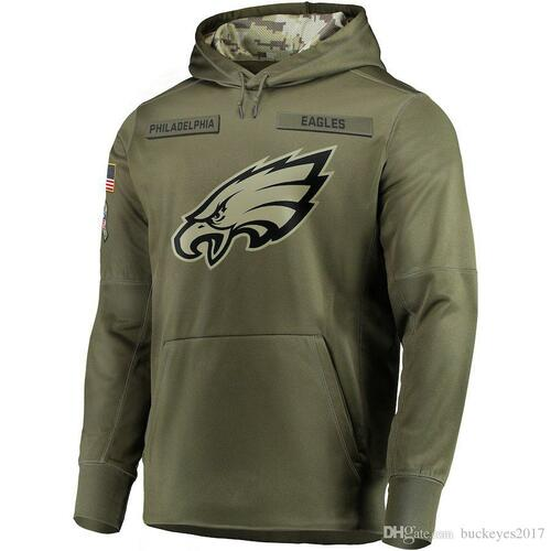 **(NEW-OFFICIAL-N.F.L.EAGLES-HOODIES/SALUTE-TO-SERVICE,CAMO.HOODED-OLIVE-GREEN-PREMIUM-PULLOVER-HOODIES/OFFICIAL-CLASSIC-N.F.L.EAGLES-LOGO-ON-THE-UPPER-FRONT-CHEST & OFFICIAL-LOGOS-DOWN-RIGHT-ARM-SLEEVE)**