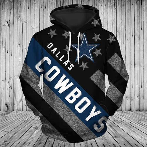 **(OFFICIALLY-LICENSED-N.F.L.DALLAS-COWBOYS-PULLOVER-HOODIES/ALL-OVER-3D-GRAPHIC-PRINTED-IN-COWBOYS-LOGOS & OFFICIAL-COWBOYS-TEAM-COLORS & FLAG,WARM-PREMIUM-PULLOVER-DEEP-POCKETED-OFFICIAL-N.F.L.COWBOYS-PATRIOTIC-TEAM-HOODIES)**