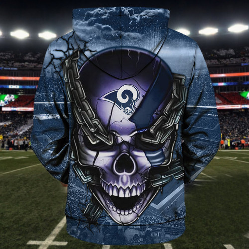 **(OFFICIAL-N.F.L.LOS-ANGELES-RAMS-TEAM-FOOTBALL-PULLOVER-HOODIES & OFFICIAL-RAMS-TEAM-LOGO-SKULL/LOS-ANGELES-CITY-CHAINS,CUSTOM-3D-GRAPHIC-PRINTED-DOUBLE-SIDED-TEAM-LOGOS & ALL-OVER-PRINTED-DESIGN/OFFICIAL-RAMS-FOOTBALL-TEAM-PULLOVER-HOODIES)**